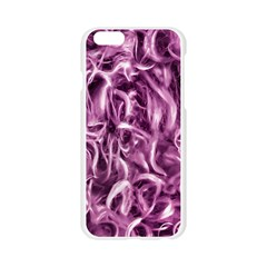 Textured Abstract Print Apple Seamless iPhone 6/6S Case (Transparent)