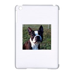 Boston Terrier Apple iPad Mini Hardshell Case (Compatible with Smart Cover)