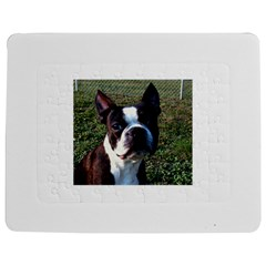 Boston Terrier Jigsaw Puzzle Photo Stand (Rectangular)