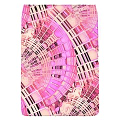 Pretty Pink Circles Curves Pattern Removable Flap Cover (S)