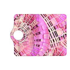 Pretty Pink Circles Curves Pattern Kindle Fire HD (2013) Flip 360 Case