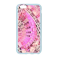 Pretty Pink Circles Curves Pattern Apple Seamless iPhone 6/6S Case (Color)