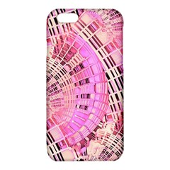 Semi circles abstract modern art pink iPhone 6/6S TPU Case