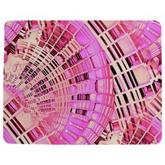 Pretty Pink Circles Curves Pattern Jigsaw Puzzle Photo Stand (Rectangular)