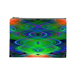 Neon Night Dance Party Cosmetic Bag (large)