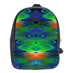 Neon Night Dance Party School Bags(Large)