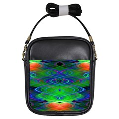 Neon Night Dance Party Girls Sling Bags