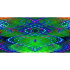 Neon Night Dance Party YOU ARE INVITED 3D Greeting Card (8x4)