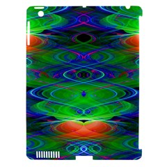 Neon Night Dance Party Apple iPad 3/4 Hardshell Case (Compatible with Smart Cover)