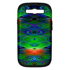 Neon Night Dance Party Samsung Galaxy S III Hardshell Case (PC+Silicone)