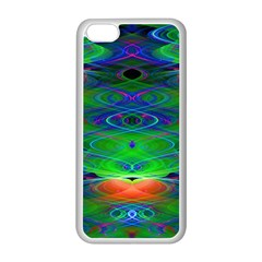 Neon Night Dance Party Apple iPhone 5C Seamless Case (White)