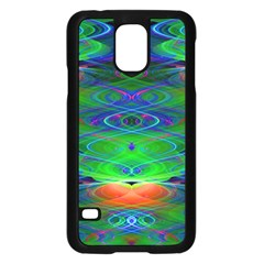 Neon Night Dance Party Samsung Galaxy S5 Case (Black)