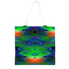 Neon Night Dance Party Grocery Light Tote Bag