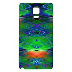 Neon Night Dance Party Galaxy Note 4 Back Case