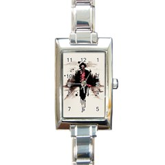 Leatherface 1974 Rectangle Italian Charm Watch