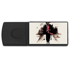 Leatherface 1974 USB Flash Drive Rectangular (1 GB)