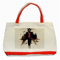 Leatherface 1974 Classic Tote Bag (Red)