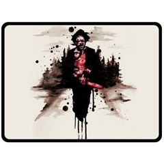 Leatherface 1974 Double Sided Fleece Blanket (large)