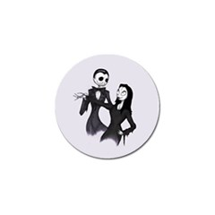Jack & Sally Addams  Golf Ball Marker (4 pack)