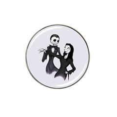 Jack & Sally Addams  Hat Clip Ball Marker (10 pack)