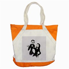 Jack & Sally Addams  Accent Tote Bag