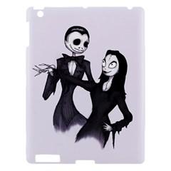 Jack & Sally Addams  Apple iPad 3/4 Hardshell Case