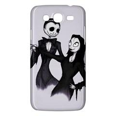 Jack & Sally Addams  Samsung Galaxy Mega 5.8 I9152 Hardshell Case