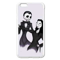 Jack & Sally Addams  Apple iPhone 6 Plus/6S Plus Enamel White Case