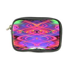 Neon Night Dance Party Pink Purple Coin Purse