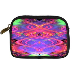 Neon Night Dance Party Pink Purple Digital Camera Cases