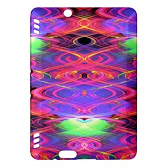 Neon Night Dance Party Pink Purple Kindle Fire HDX Hardshell Case