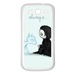 Always... Samsung Galaxy S3 Back Case (White)