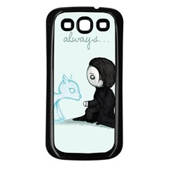 Always... Samsung Galaxy S3 Back Case (Black)