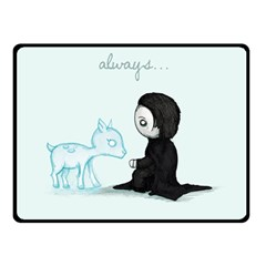 Always... Double Sided Fleece Blanket (Small)