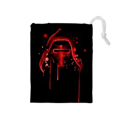 Bad Grandson Drawstring Pouches (Medium)