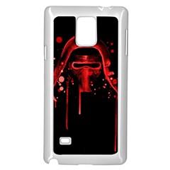 Bad Grandson Samsung Galaxy Note 4 Case (White)