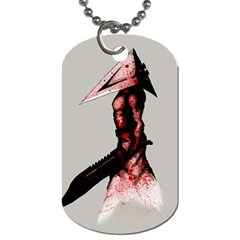 Pyramid Head Drippy Dog Tag (One Side)