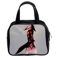 Pyramid Head Drippy Classic Handbags (2 Sides)