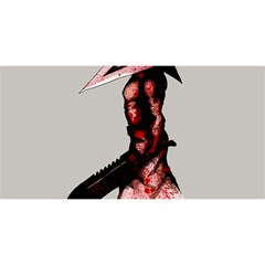 Pyramid Head Drippy YOU ARE INVITED 3D Greeting Card (8x4)