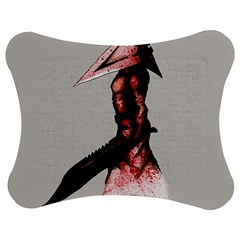 Pyramid Head Drippy Jigsaw Puzzle Photo Stand (Bow)