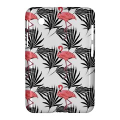 Flamingos Palmetto Fronds Tropical Pattern Samsung Galaxy Tab 2 (7 ) P3100 Hardshell Case