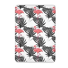 Flamingos Palmetto Fronds Tropical Pattern Samsung Galaxy Tab 2 (10.1 ) P5100 Hardshell Case