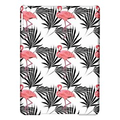 Flamingos Palmetto Fronds Tropical Pattern iPad Air Hardshell Cases