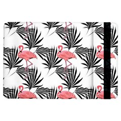 Flamingos Palmetto Fronds Tropical Pattern iPad Air Flip