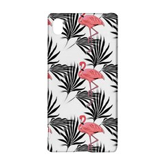 Flamingos Palmetto Fronds Tropical Pattern Sony Xperia Z3+
