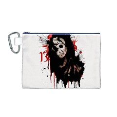 Momma s Boy 13 Canvas Cosmetic Bag (M)