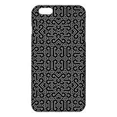 Black And White Ethnic Sharp Geometric  Iphone 6 Plus/6s Plus Tpu Case