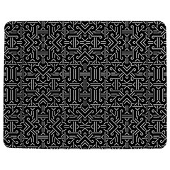 Black and White Ethnic Sharp Geometric  Jigsaw Puzzle Photo Stand (Rectangular)