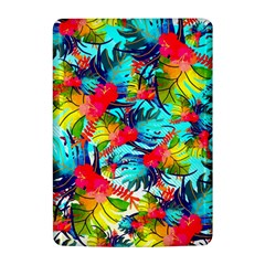 Watercolor Tropical Leaves Pattern Kindle 4