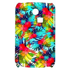 Watercolor Tropical Leaves Pattern Samsung S3350 Hardshell Case